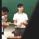 【盗撮動画】これはアカン!お世話になった女先生のパンチラを狙った昔の映像を今さらUP♪