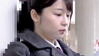 【盗撮動画】透き通る美肌の女子校生を中出しレイプした後にトイレでトドメの顔射した鬼畜♪