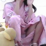 【盗撮動画】もはや文化遺産レベル!浴衣少女の乱れ開いたパンチラは日本の夏の風物詩♪