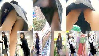 【盗撮動画】春の職場対抗OLパンチラ選手権!ブレザーOL vs スーツOL vs 制服OL♪