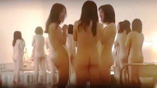 【盗撮動画】合宿風呂で洗い場待ちしてる女子大生サークルの美尻!巨尻!淫尻!を大量捕獲♪