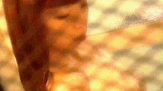 【盗撮動画】金網越しでも美人は美人!セクシーシャワータイムを覗き撮りされたビーナスJD♪