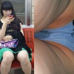 【盗撮動画】エスカレーターで何度撮っても気付かない美味しそうな生脚女子たちの生パンティ♪