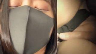 【盗撮動画】痴漢に囲まれてアソコとお乳を弄りまくられて不覚にも感じまくってるハーフ系美女♪